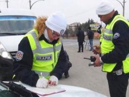 Mersin policia trafico multas