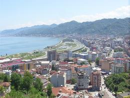 Vista de la ciudad de Rize