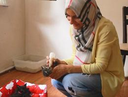Rize mujeres hogar gatos