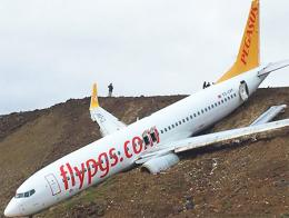 Trabzon accidente avion pegasus