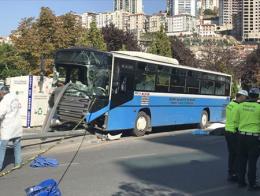 Ankara accidente autobus