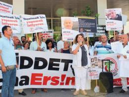 Antalya protesta violencia medicos