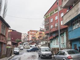 Estabul haskoy barrio beyoglu
