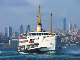 Estambul ferry bosforo