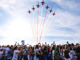 Estambul festival teknofest exhibicion aerea