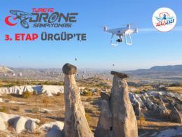 Nevsehir capadocia campeonato carreras drones