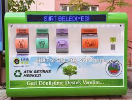 Siirt contenedor reciclaje residuos