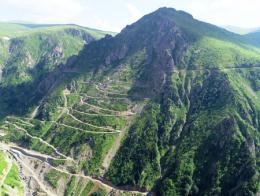 Trabzon carretera peligrosa derebasi