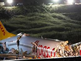 Estambul accidente avion pegasus