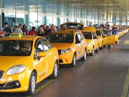 Estambul aeropuerto taxis taxistas