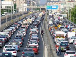 Estambul atascos trafico