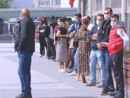 Estambul colas centro comercial pandemia