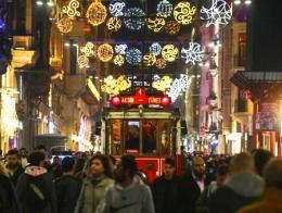 Estambul istiklal ano nuevo