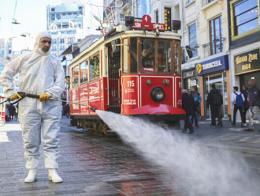 Estambul istiklal pandemia coronavirus