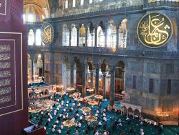 Estambul santa sofia mezquita