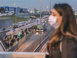 Estambul transporte pandemia coronavirus