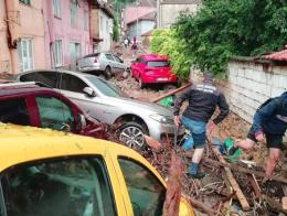 Turquia inundaciones bursa