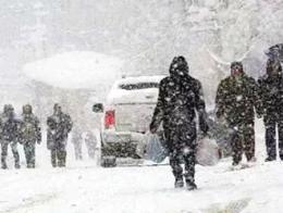 Turquia nevadas nieve