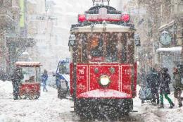 Estambul nevada nieve