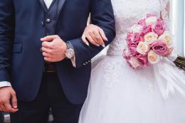 Pareja matrimonio boda