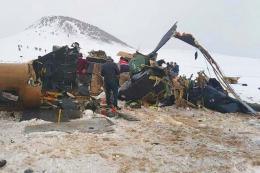 Turquia accidente helicoptero militar