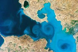 Turquia imagen lago van nasa