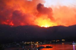 Turquia incendios forestales marmaris