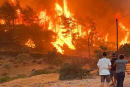 Turquia incendios forestales