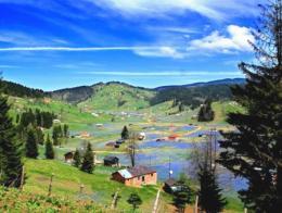 Una vista del parque natural de Kadıralak, uno de los principales candidatos para construir los lagos artificiales