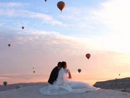 Capadocia fotos novios boda