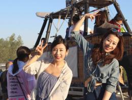 Capadocia turistas japonesas japon
