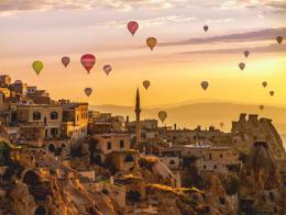 Capadocia turquia globos paisajes