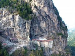 Trabzon monasterio bizantino sumela