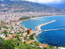 Antalya alanya costa destino turistico