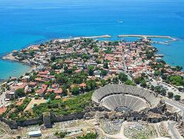 Antalya side ruinas