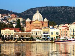 Grecia isla lesbos mitilene