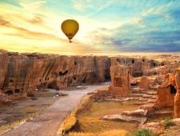 Mardin dara vuelos globo