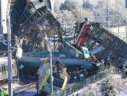 Ankara accidente choque trenes