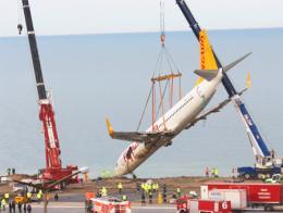 Trabzon rescate avion pegasus