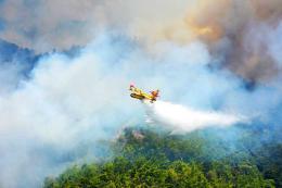 Turquia avion espanol extincion incendios