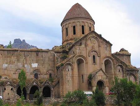 Monasterio de Oshki, en la provincia de Erzurum (noreste de Turquía)