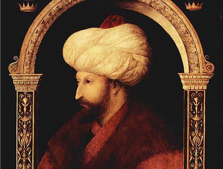Mehmet ii sultan retrato