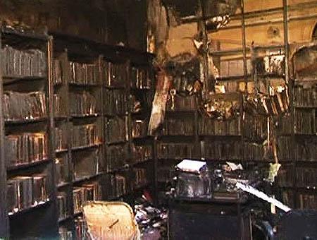 Incendio universidad galatasaray