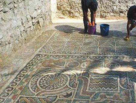 Mosaicos romanos amasya