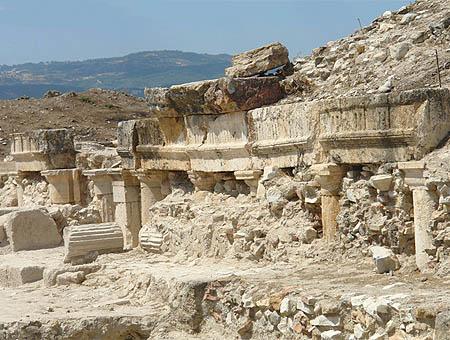Tripolis denizli ruinas