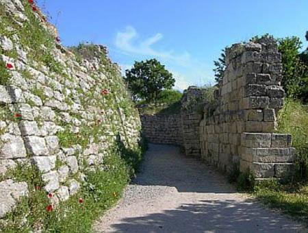 Murallas de la antigua Troya