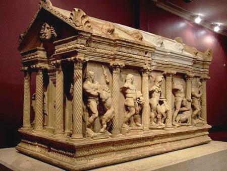 Antalya sarcofago hercules