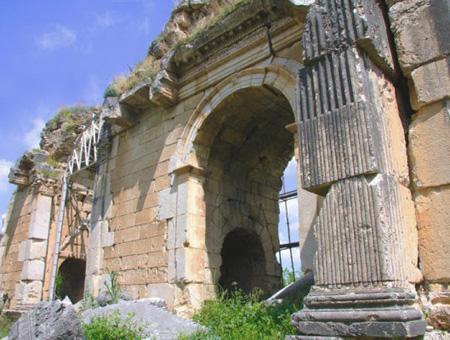 Anavarza anazarbus ruinas