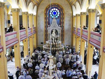 Edirne sinagoga ceremonia judia