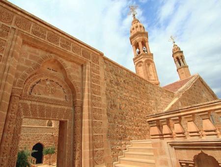 Imagen del monasterio siriaco-ortodoxo de Mor Gabriel, en la provincia turca de Mardin